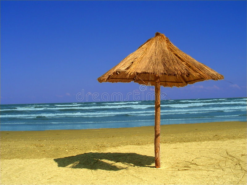 Landscape at the seaside royalty free stock photo