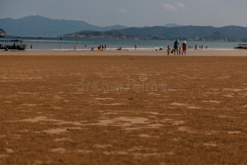 Landscape seaside stock image
