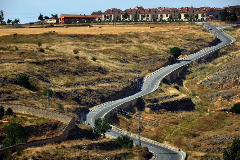 Download Landscape Of Segovia Province Stock Image - Image: 26451487