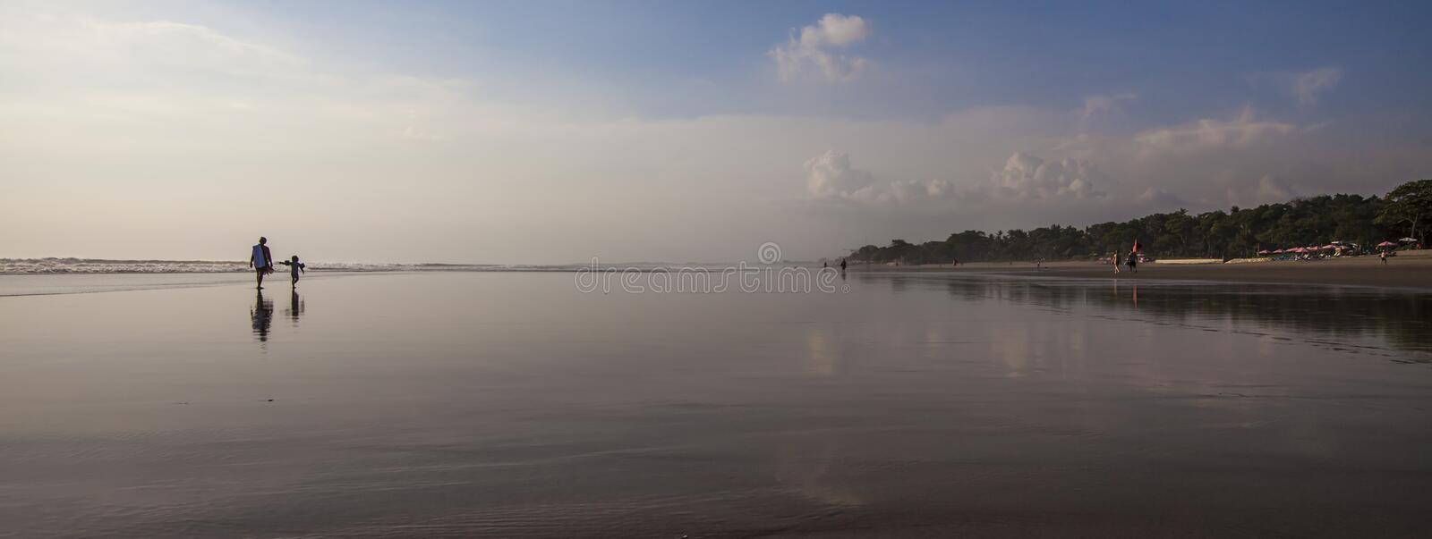 Landscape from Seminyak royalty free stock photography