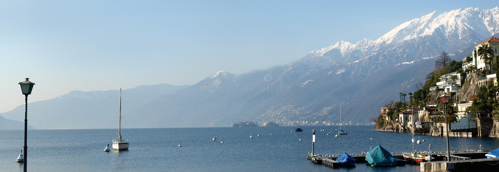 Landscape series - Ascona (Swiss) royalty free stock photography