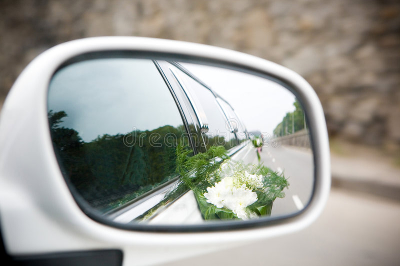 Download Landscape In The Sideview Mirror Royalty Free Stock Image - Image: 6986796