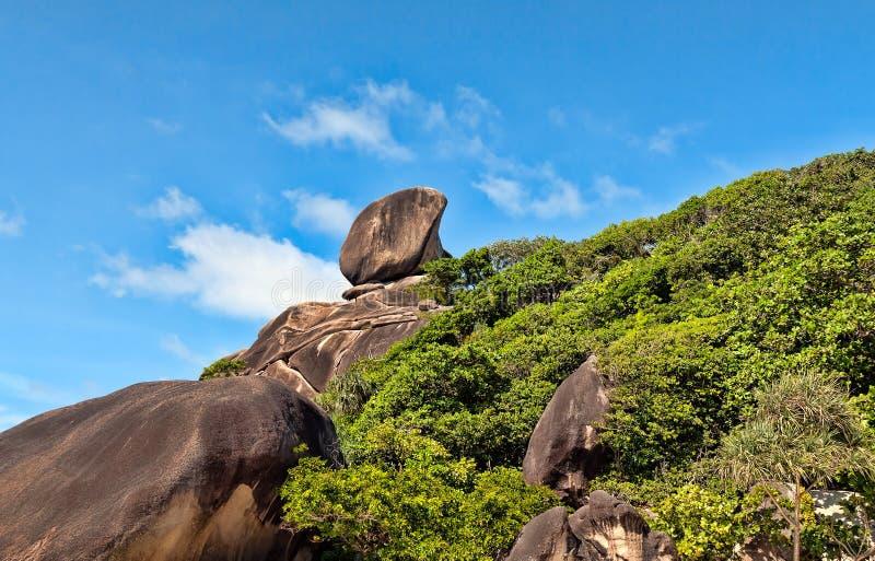Download Landscape, Similan Islands stock image. Image of hill - 23604865