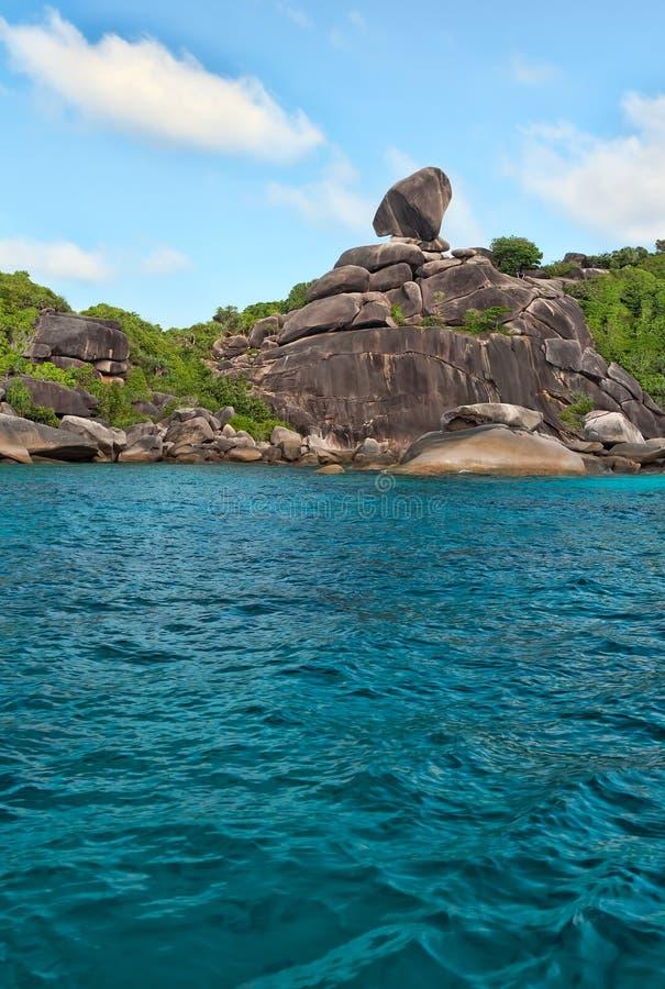 Download Landscape, Similan Islands stock photo. Image of blue - 23950232