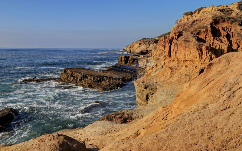 Landscape of the Southern California coast. Outside of San Diego royalty free stock photography