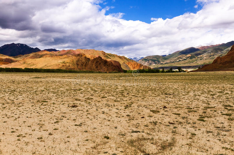 Download Landscape steppe mountains stock photo. Image of russia - 32330758