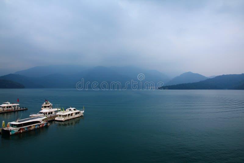 Landscape of Sun-Moon Lake in Taiwan stock photography