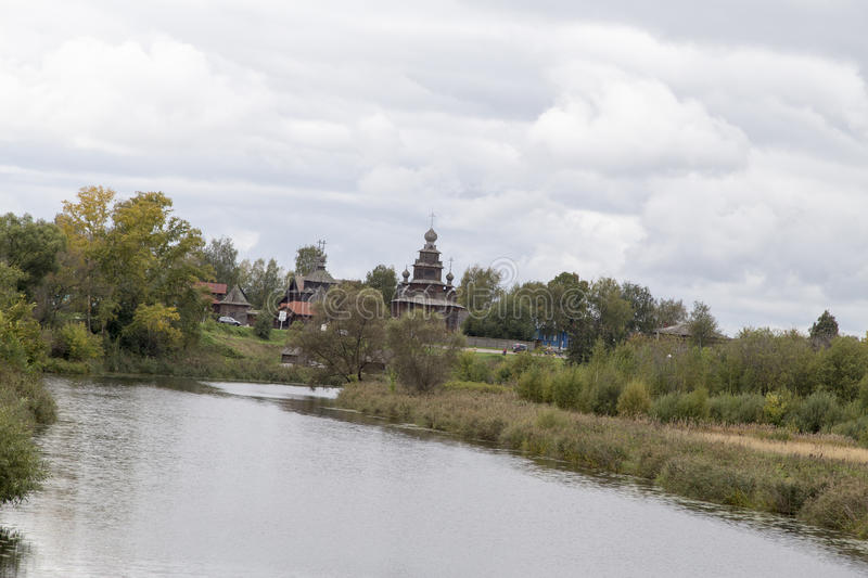 The landscape in suzdal,russian federation. The landscape is taken in suzdal,russian federation stock images