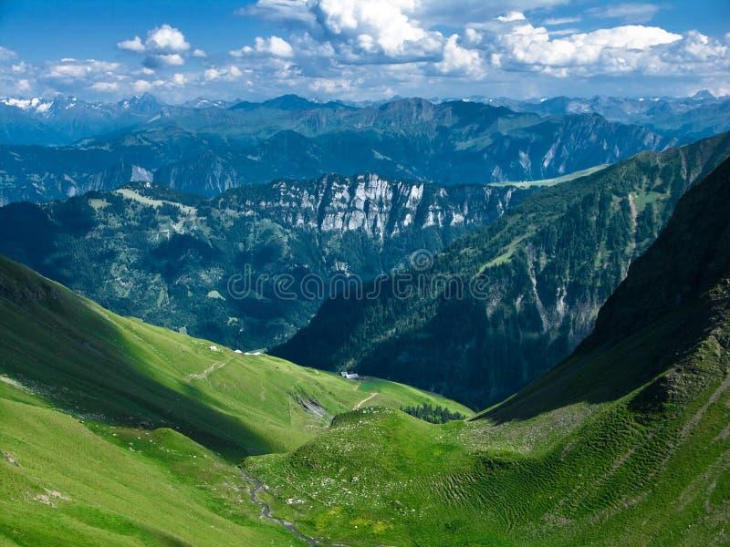 Landscape in Switzerland stock photos