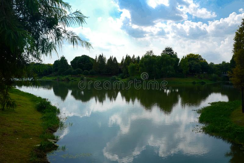 The landscape of Taihu lake royalty free stock images