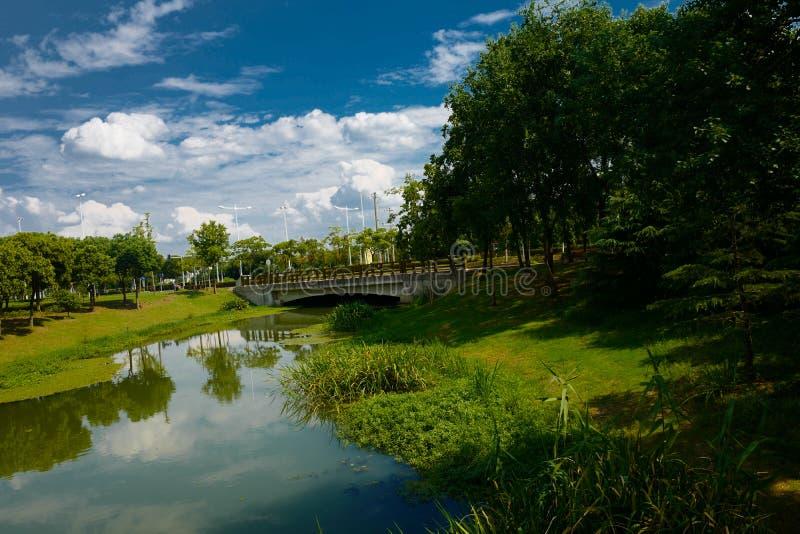 The landscape of Taihu lake stock images