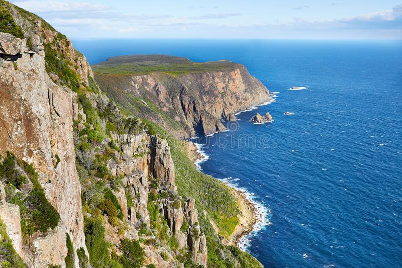 Landscape in Tasmania stock photo