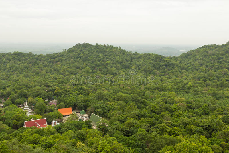 Download Landscape The Temple In Forest Stock Photo - Image: 32019578