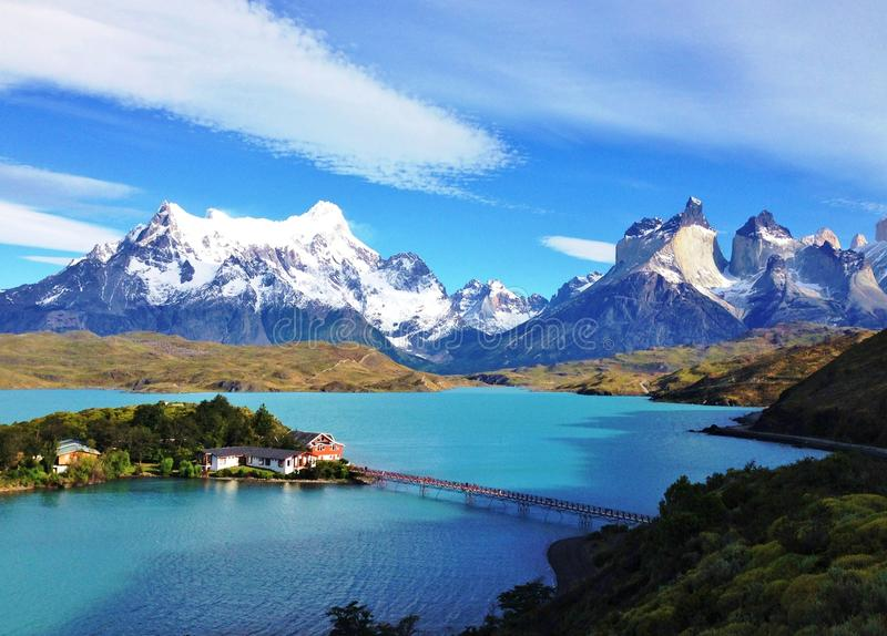 Landscape - Torres del Paine, Patagonia, Chile stock image