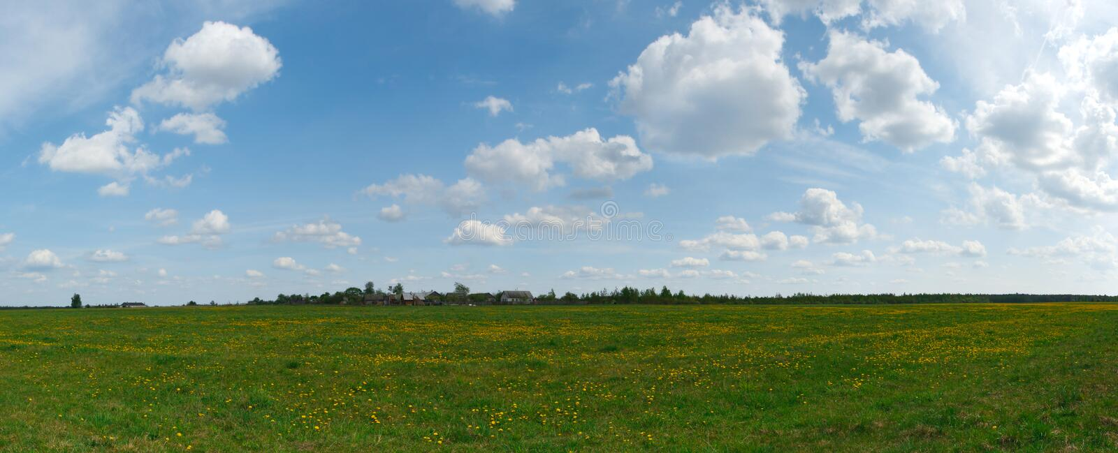 Download Landscape In Township Stock Photo - Image: 30176550