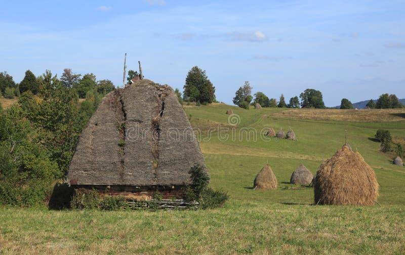 Landscape In Transylvania Stock Photos