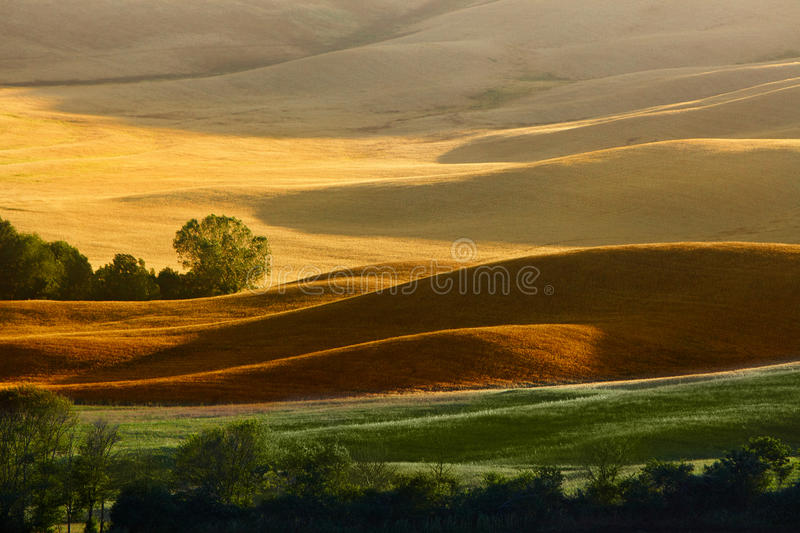 Landscape in Tuscany stock photography