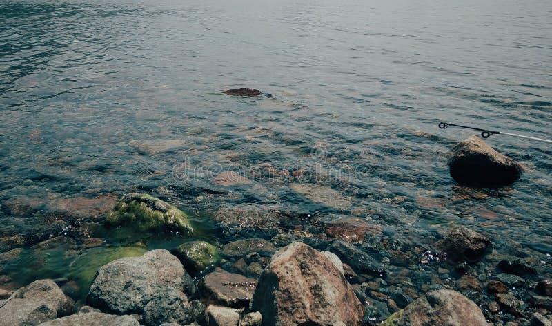 Landscape underwater stock photo