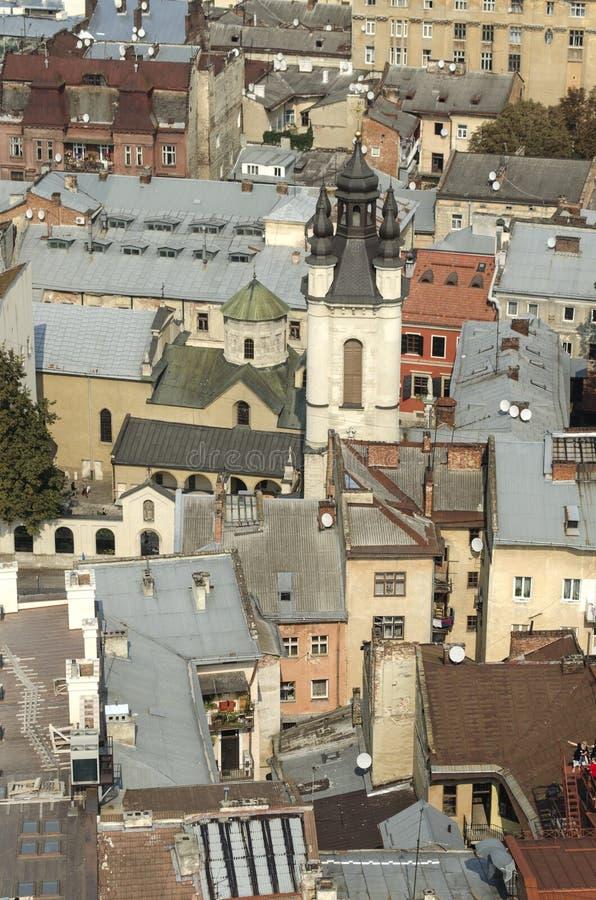 landscape urban Όψη της παλαιάς πόλης στοκ φωτογραφία με δικαίωμα ελεύθερης χρήσης
