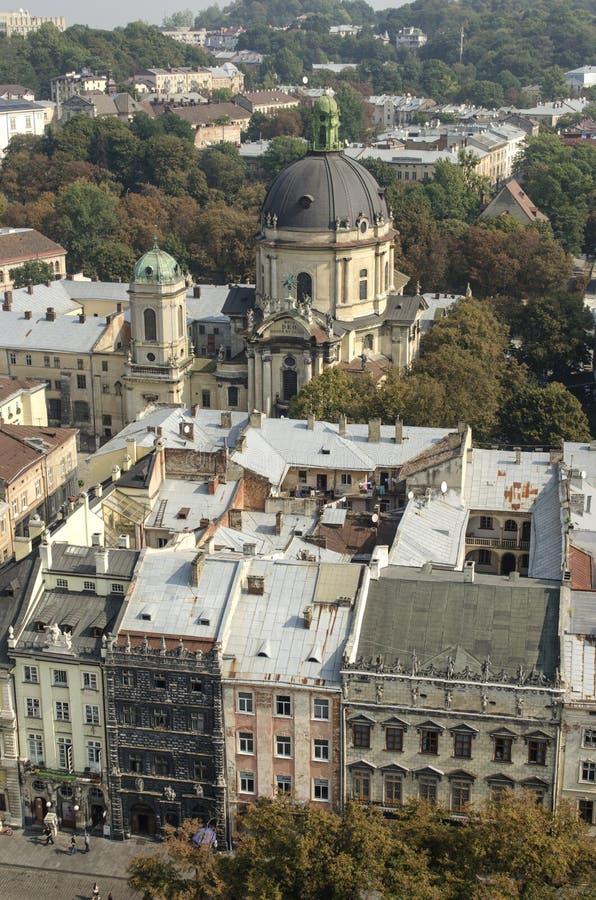 landscape urban Όψη της παλαιάς πόλης στοκ φωτογραφίες με δικαίωμα ελεύθερης χρήσης