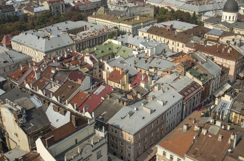 landscape urban Όψη της παλαιάς πόλης στοκ φωτογραφίες