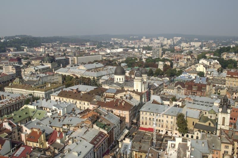 landscape urban Όψη της παλαιάς πόλης στοκ εικόνες με δικαίωμα ελεύθερης χρήσης