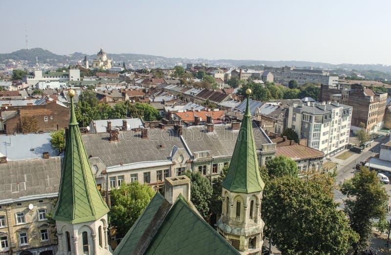 landscape urban Όψη της πόλης στοκ εικόνα με δικαίωμα ελεύθερης χρήσης
