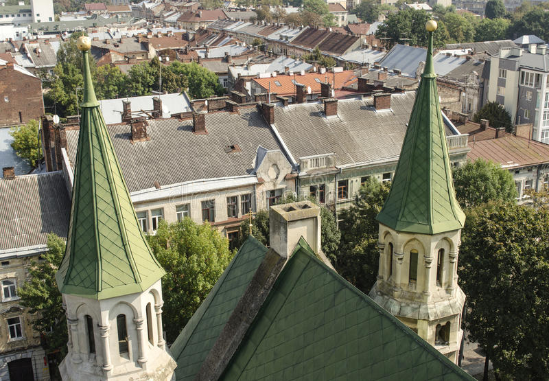 landscape urban Όψη της πόλης στοκ φωτογραφία με δικαίωμα ελεύθερης χρήσης