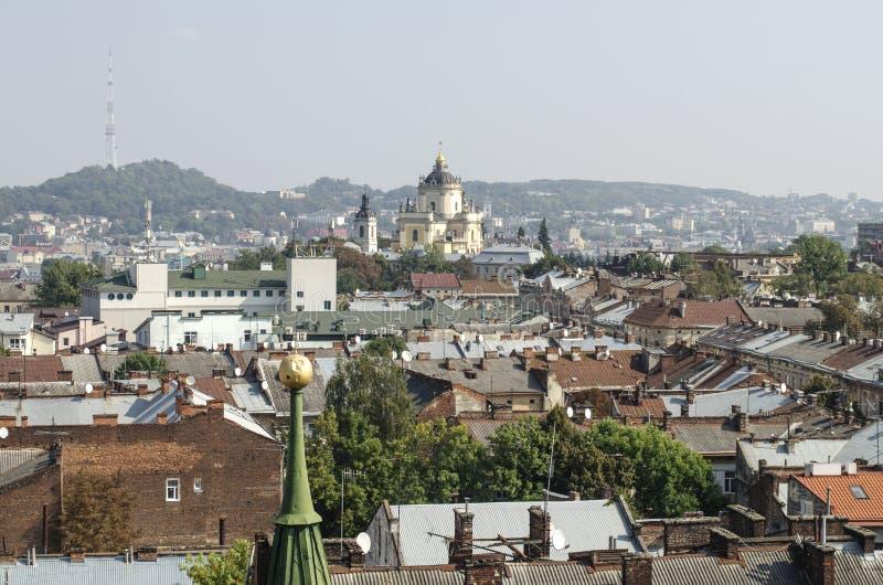 landscape urban Όψη της πόλης στοκ εικόνες