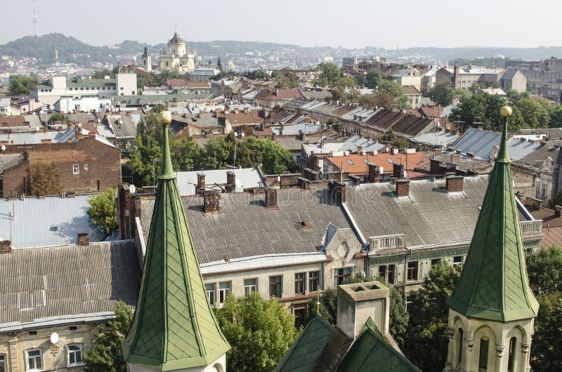 landscape urban Όψη της πόλης στοκ εικόνα