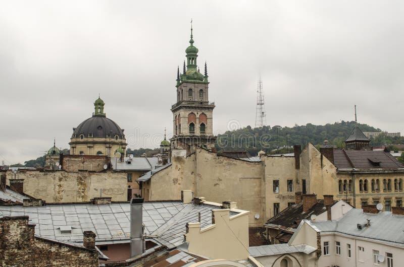 landscape urban Όψη της πόλης στοκ εικόνες με δικαίωμα ελεύθερης χρήσης