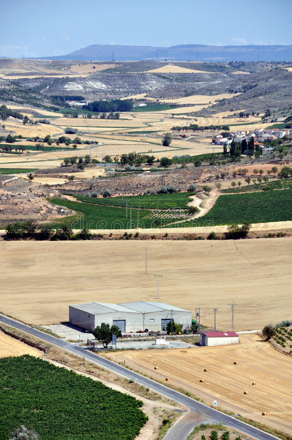 Download Landscape Of Valladolid Province Stock Photo - Image: 26705362