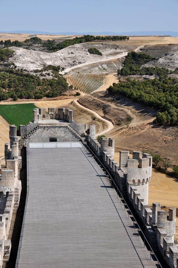 Landscape Of Valladolid Province Stock Image