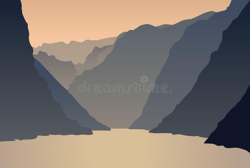Landscape vector stock illustration