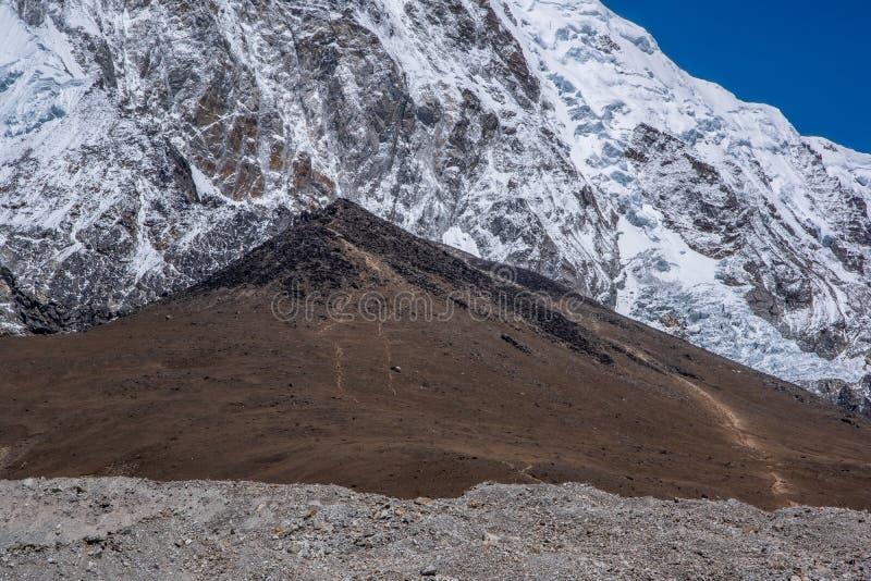Landscape view of Kala Patar 5,643 m. Sagarmatha Everest National Park, Nepal stock images