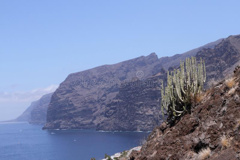 Los Gigantes, Tenerife royalty free stock photography