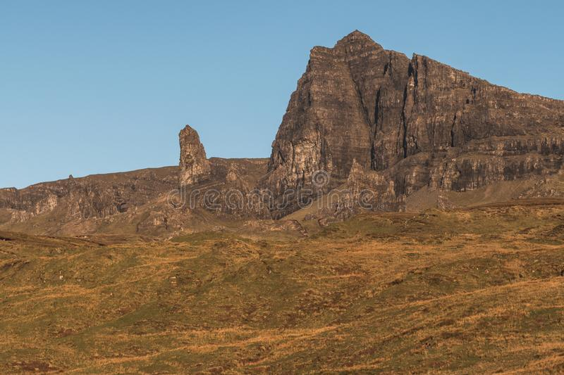 Old Man of Storr Scotland stock photo