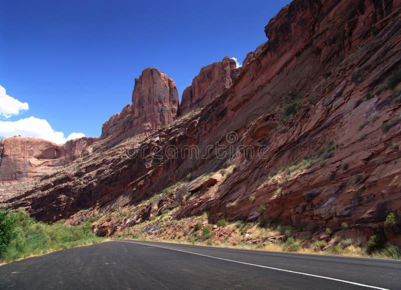 Landscape view UTAH - USA stock images
