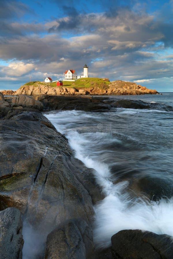 Free Landscape With Cape Neddick Lighthouse Stock Photo - 95233280