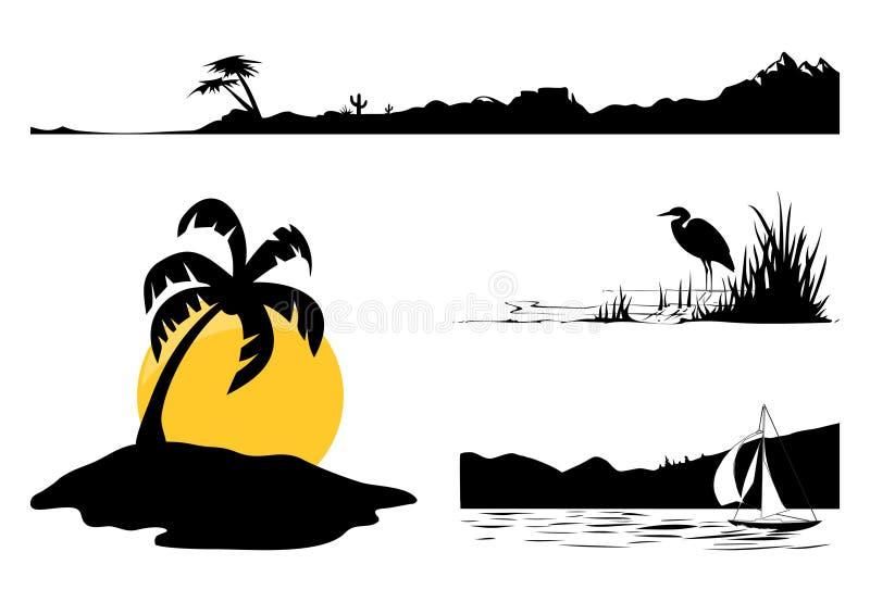 Landscape2 stock de ilustración