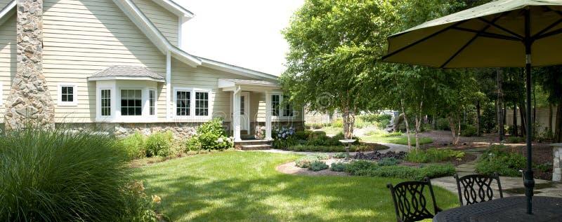 Download Landscaped Backyard Patio Stock Image - Image: 20282911