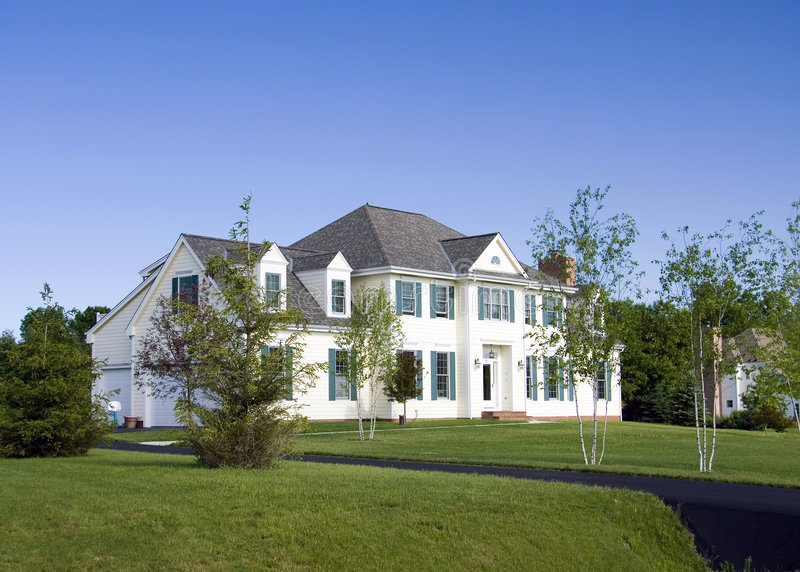Download Landscaped Estate Paved Driveway Stock Image - Image: 8933543