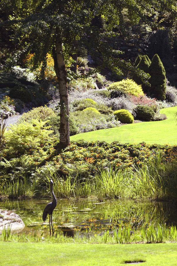 Landscaped Mansion Royalty Free Stock Photography