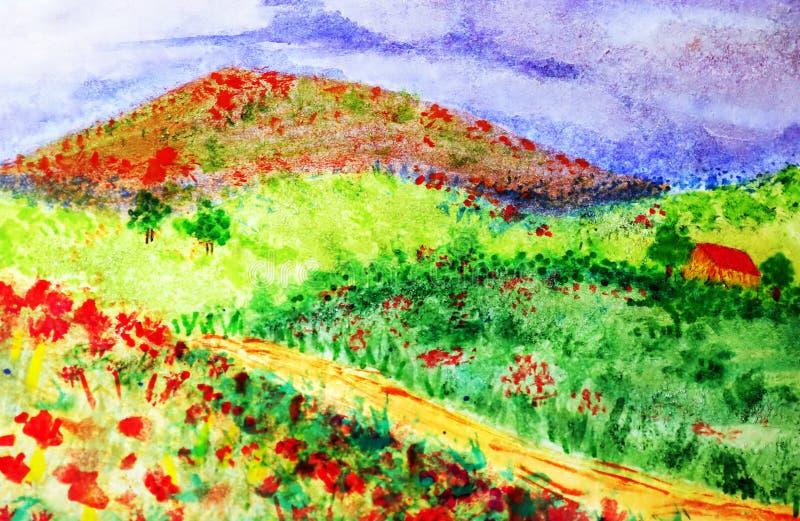 Download Landscapes stock illustration. Illustration of mountain - 169355