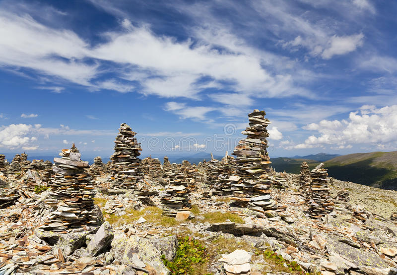 Landscapes Of Altai Mountains. royalty free stock image