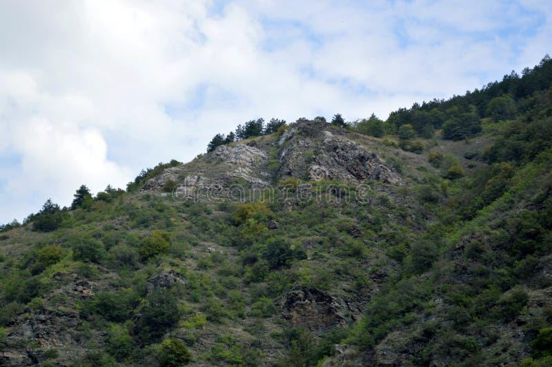 "Landscapes Around Bachkovo Monastery ""Assumption of Holy Virgin"". Bulgaria stock image"