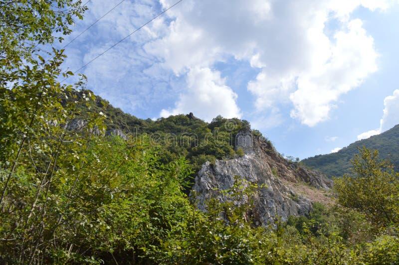 "Landscapes Around Bachkovo Monastery ""Assumption of Holy Virgin"". Bulgaria stock photos"