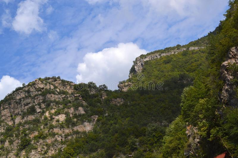 "Landscapes Around Bachkovo Monastery ""Assumption of Holy Virgin"". Bulgaria royalty free stock photos"