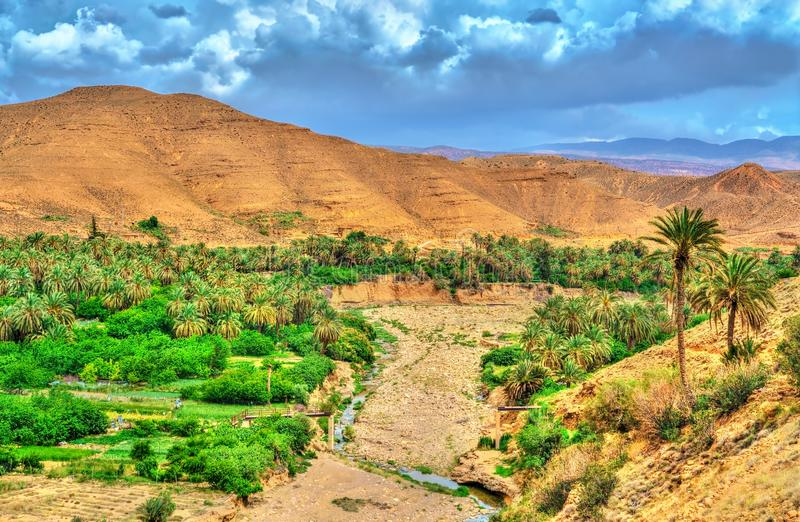 Landscapes of Batna Province in Algeria. North Africa royalty free stock photo