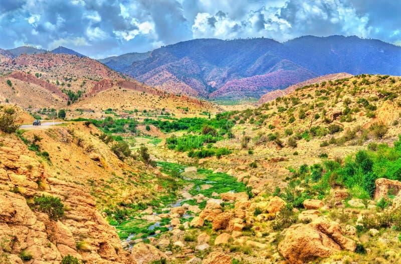 Landscapes of Batna Province in Algeria. North Africa stock image